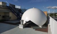 CLS, Tahiti METEO France top of radome partical Two