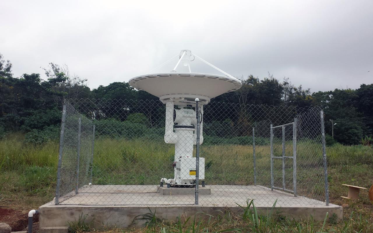 UENR Ghana 20150907_110708 web antenna stow 2