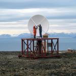 SG40 Svalbard KSAT SG40 - Antenna Installation 043 sm